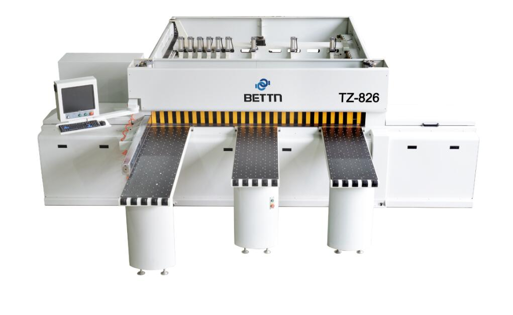 The difference between curved straight edge banding machine and straight edge banding machine